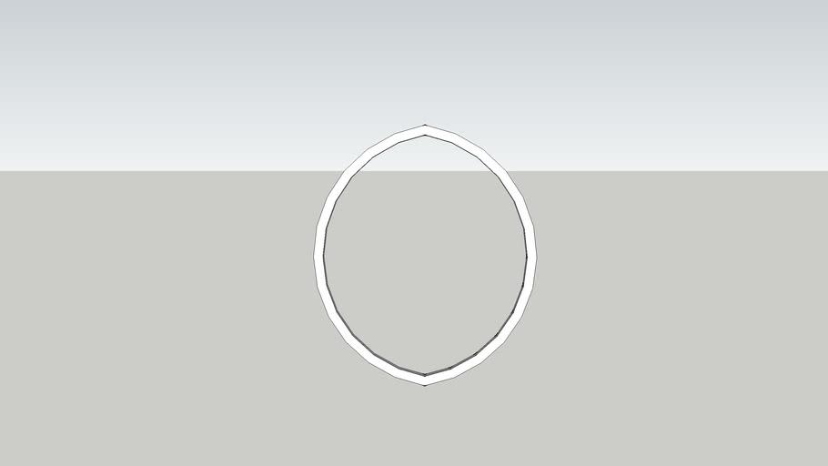center cornice oval