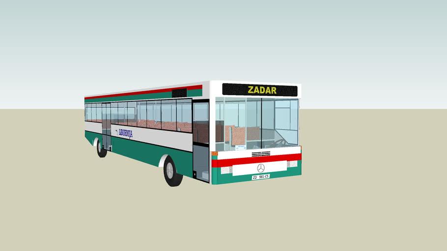 Liburnija Bus Zadar 3d Warehouse