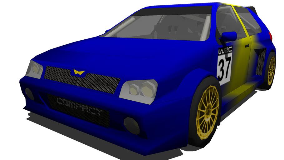SSMC Compact WRC Rally Car
