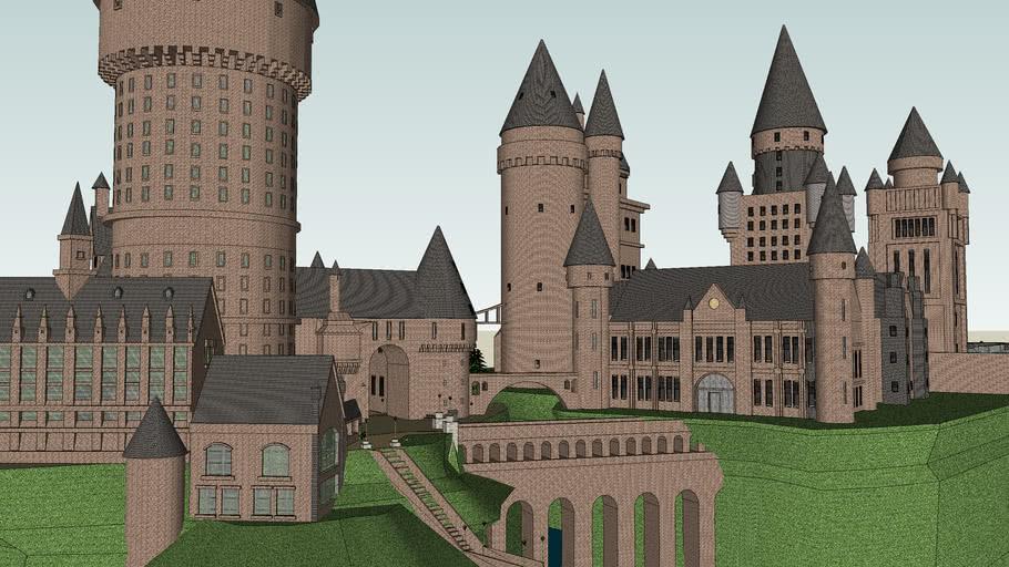 Hogwarts Castle,Castillo