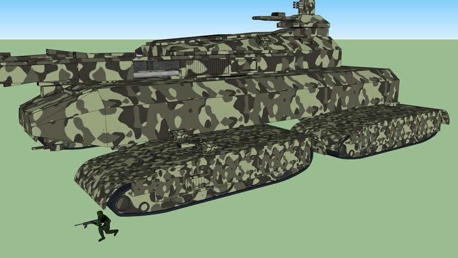 Raytheon Dominator Heavy Assault Railgun Tank