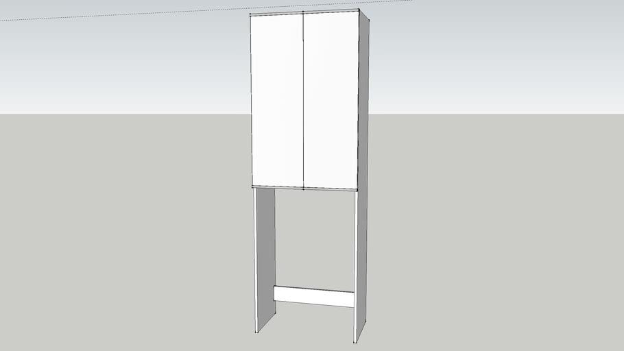 Ikea Lillagen Washing Machine Cabinet 3d Warehouse