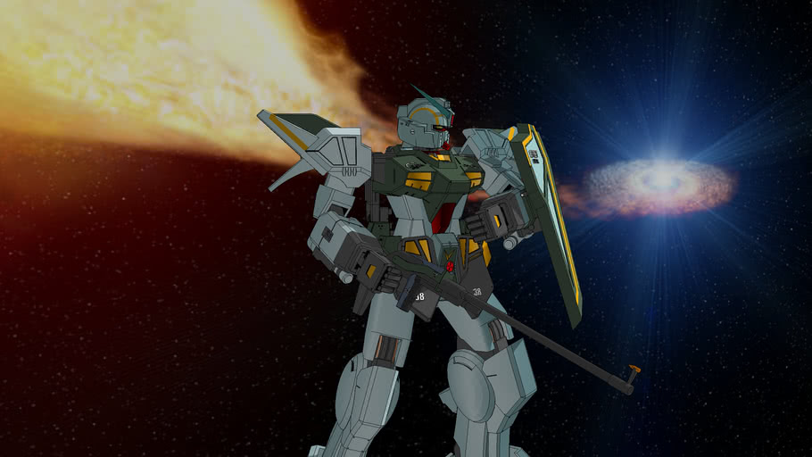 FA-78-1 Light Armored Narsil Gundam