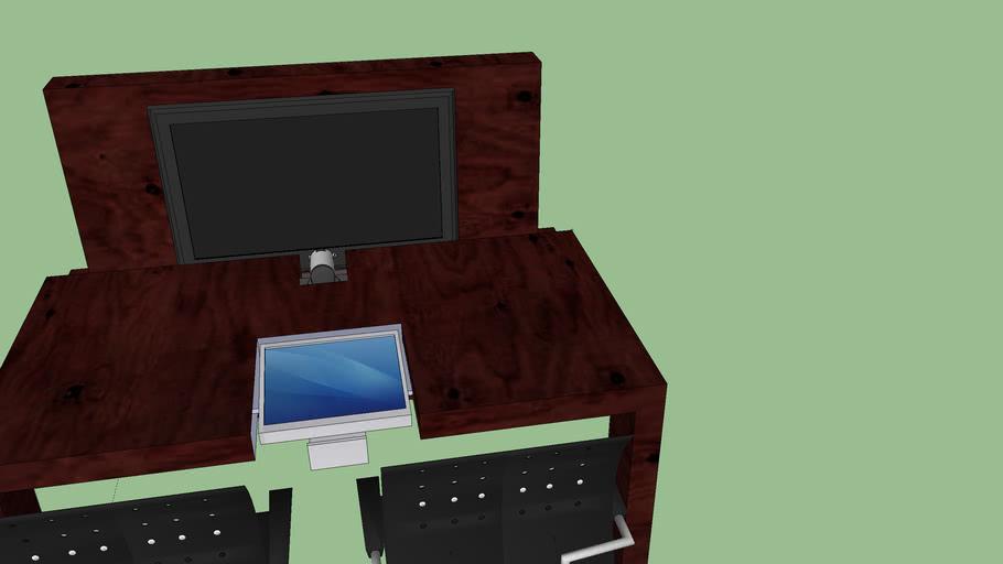 Mesa para videoconferencia