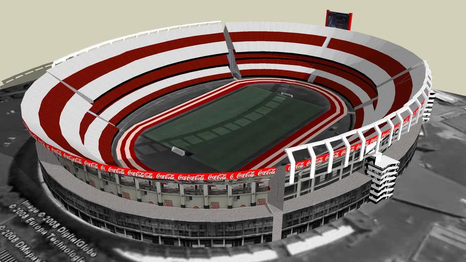 """Estadio de River """"Antonio Vespucio Liberti""""(bien ubicado)"""