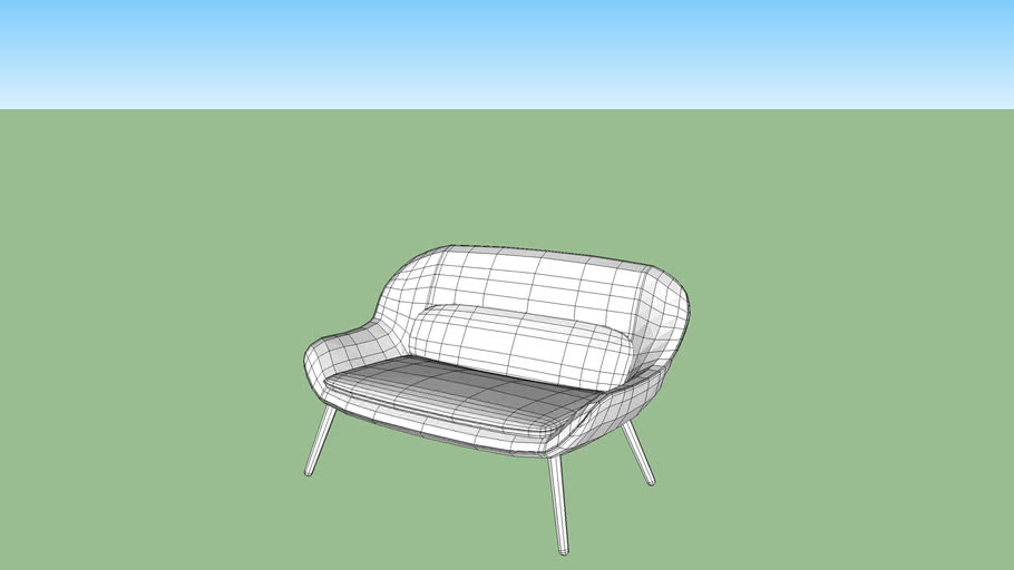 2 seater chair