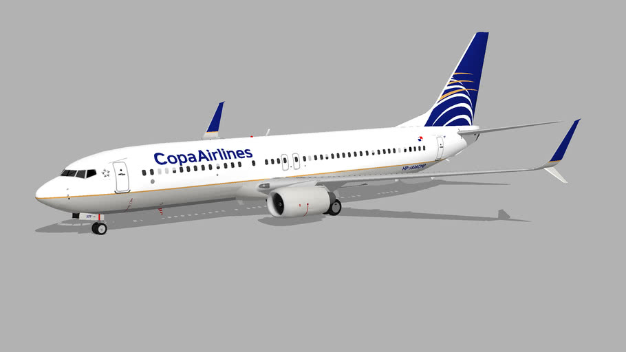 Copa Airlines (HP-1836CMP) - Boeing 737-8V3 (2014)