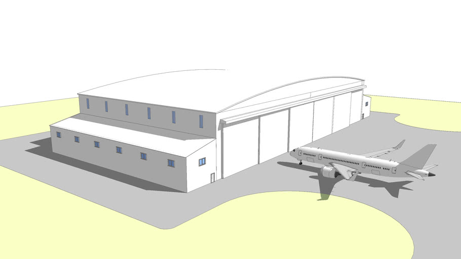 737 hangar