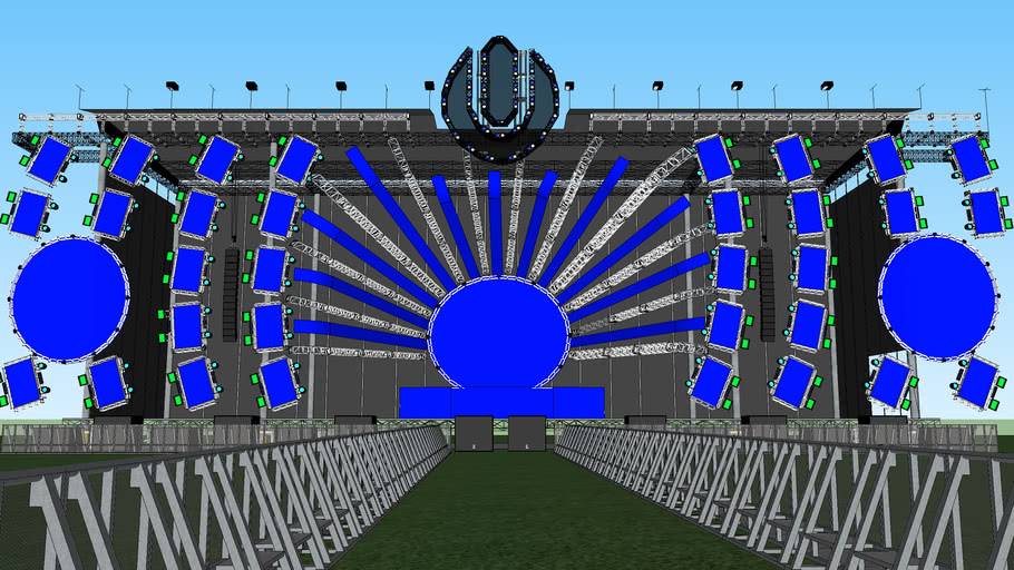 Ultra Music Festival 2014 Main Stage
