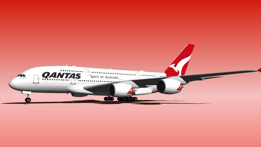 Qantas A380-800