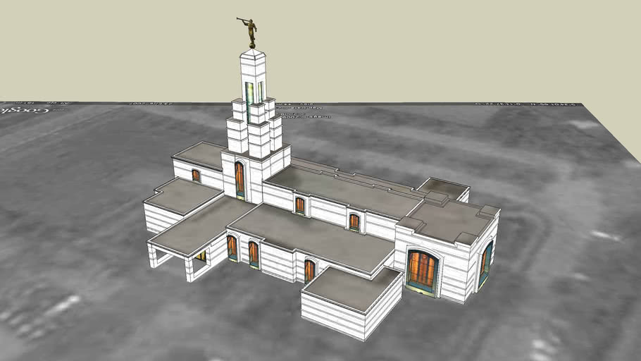 LDS. Temple Accra Ghana Templo Mormon, 117 operating temple.