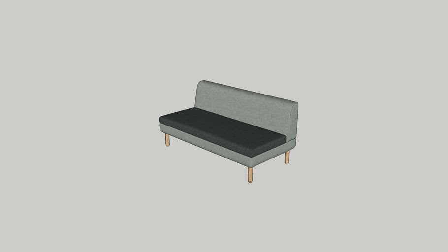 Logan middle sofa 160 W