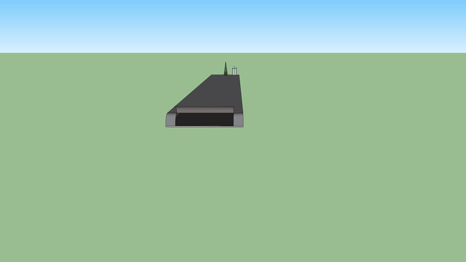 Floating Runway For Island with home made tower