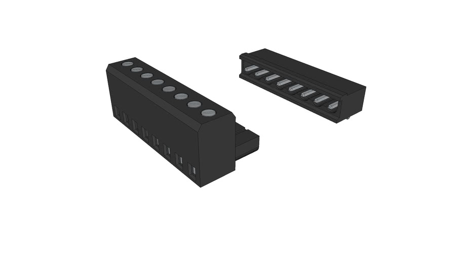 removeable terminal block 8 pin