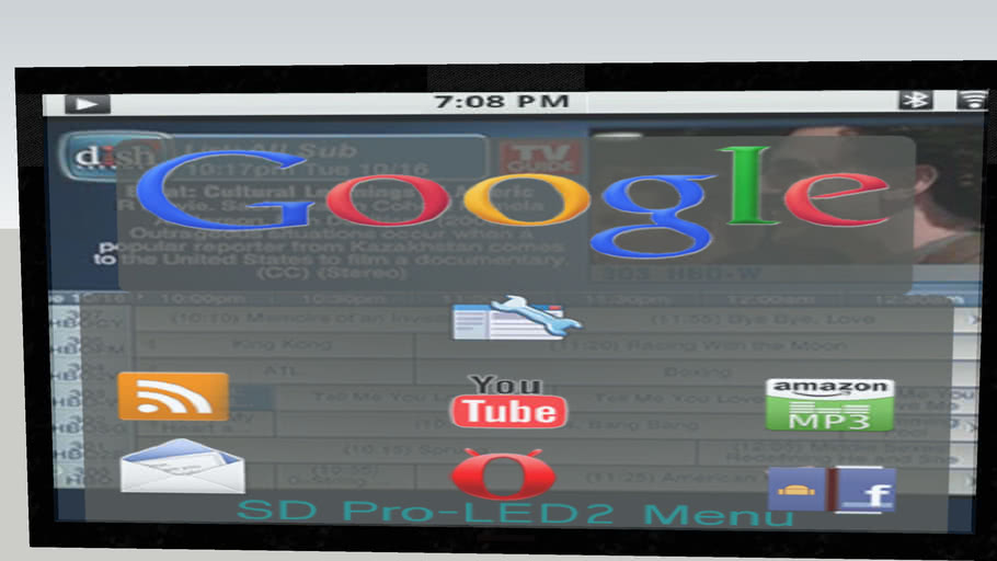 """46""""  Android LED TV"""