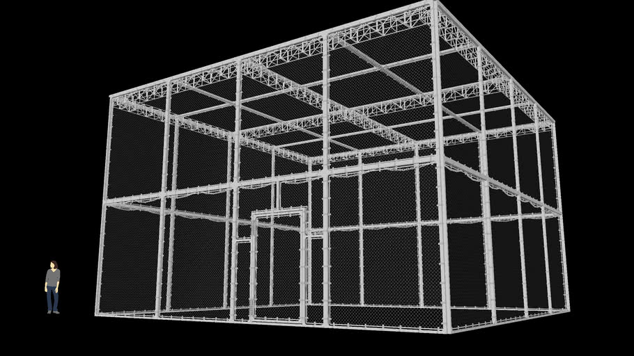 WWE Hell in a Cell Cage