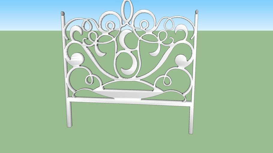 cabecero cama hierro forjado