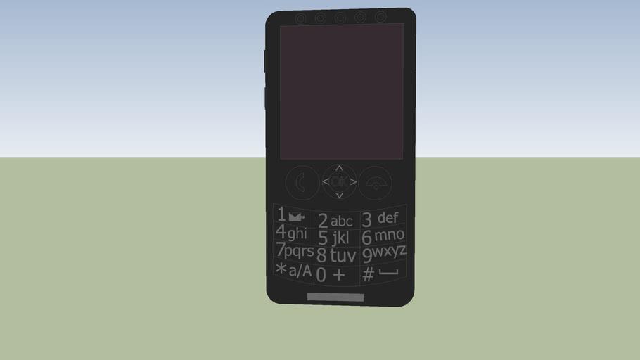 Mystic M750 mobile phone