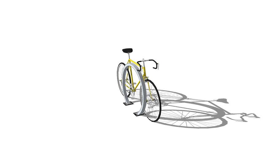 Omega Series Hoop Runner Bike Racks