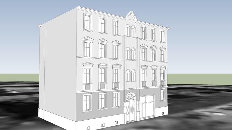 TENEMENT HOUSE ON 85 GDANSKA STREET IN BYDGOSZCZ