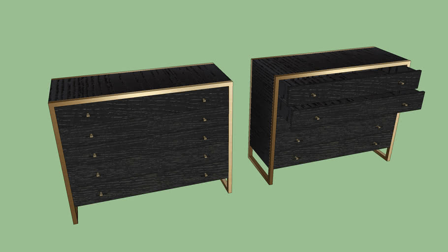 Remix Single Dresser by Caracole