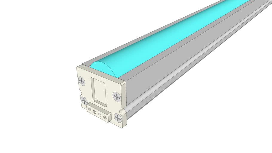 Micro Grazer Light Channel RGB, 2.6W 24VDC
