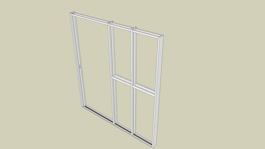 sliding door frame