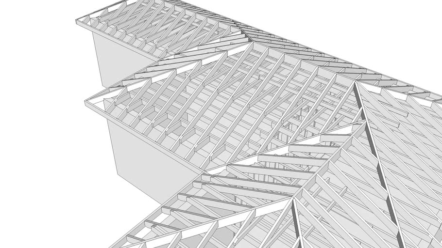 Hip And Valley Roof 3d Warehouse