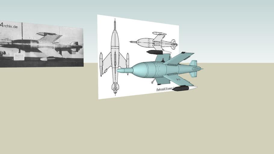 Ruhrstal X 4 air to air missile