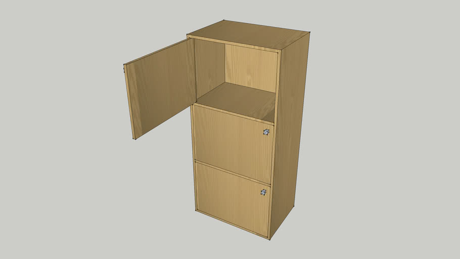 三节小柜子