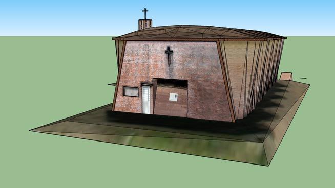 Iglesia  Cristo Obrero Atlántida Uruguay