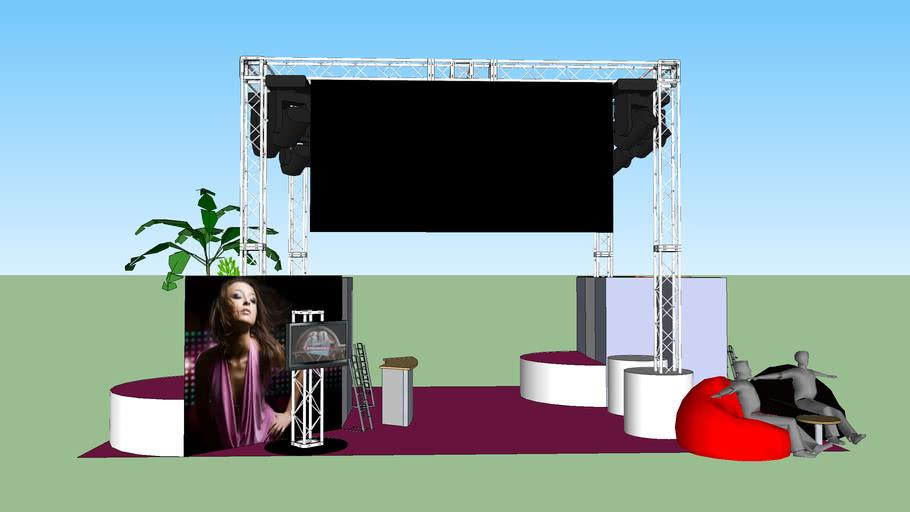 Exhibition Stand 6m x 11m
