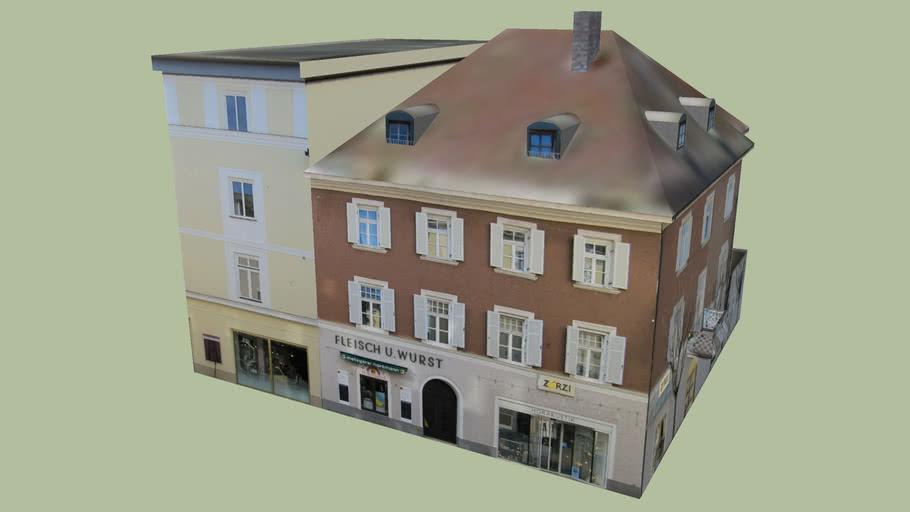 Geschäftshaus in Bad Reichenhall, Germany