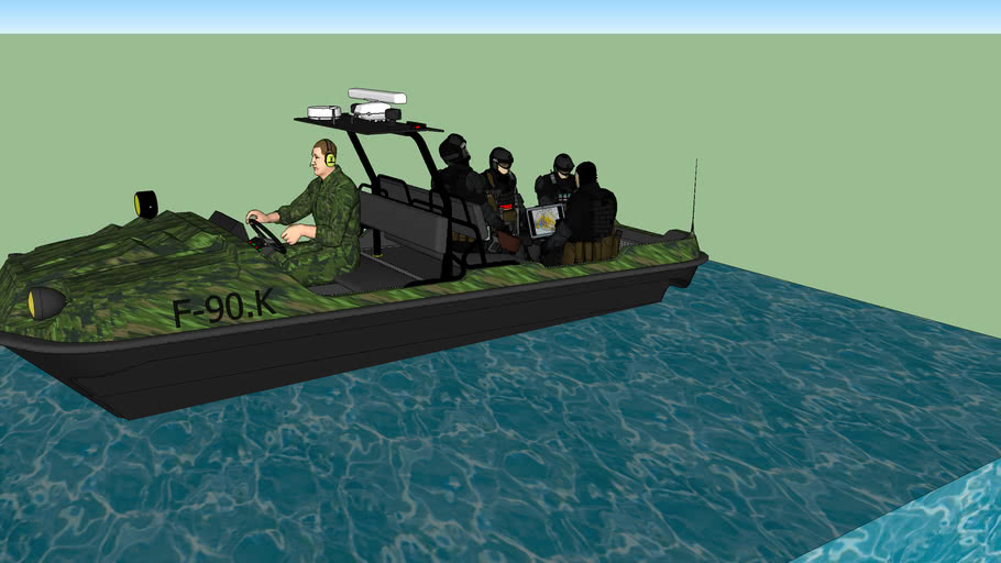 army boat F-90.K