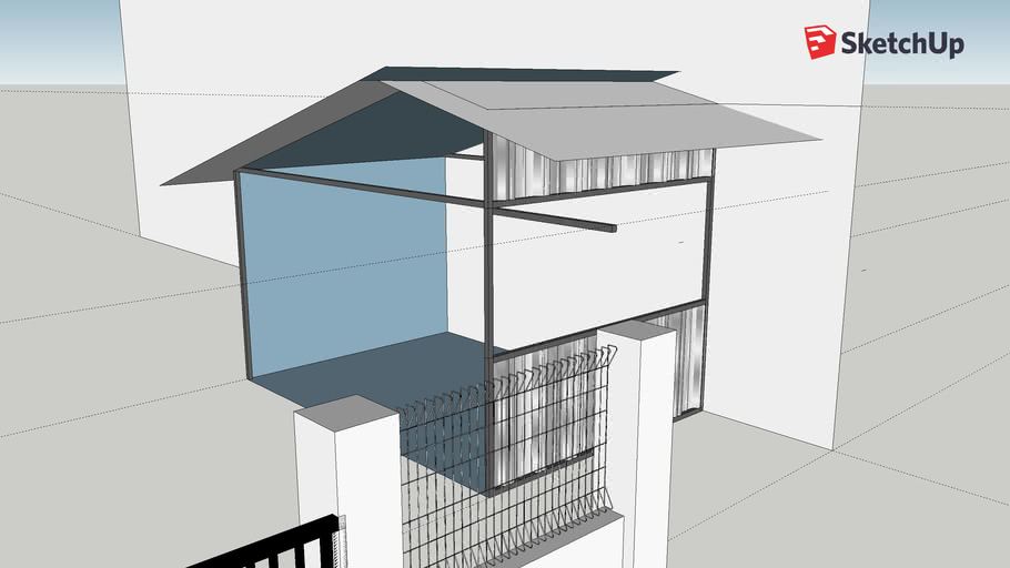 Spandek Container 3d Warehouse