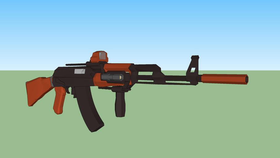 AK-47 w/ Rails