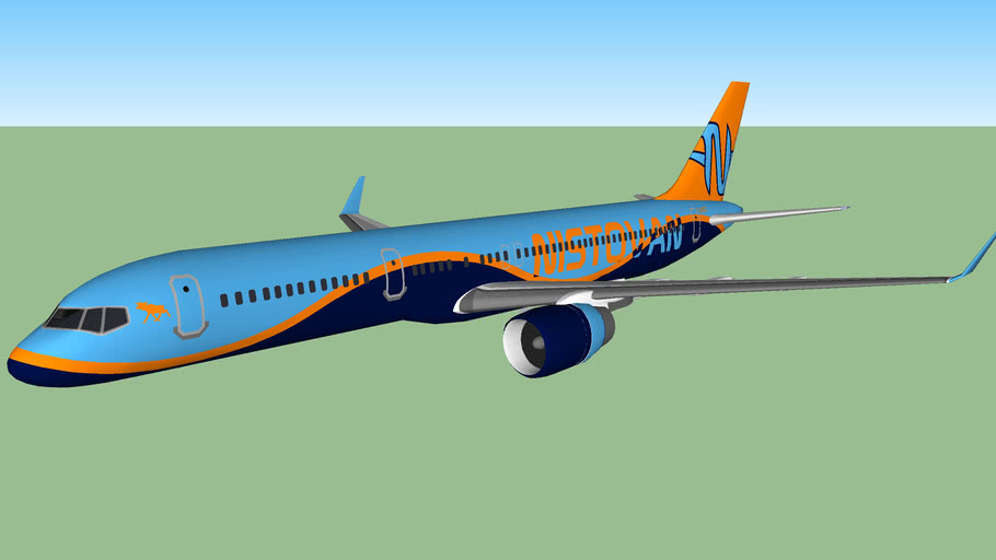 Golden Moose Airways/Nistovan Team 757-236W (2013)