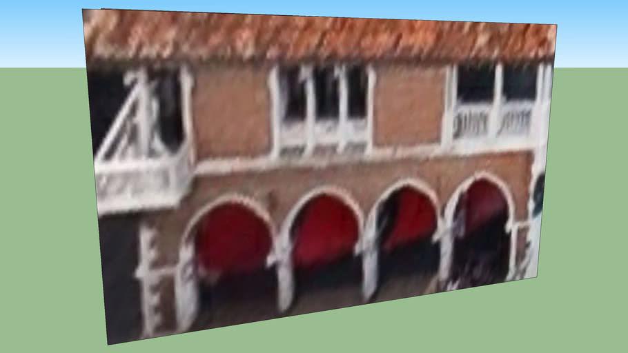 Gebäude in Venedig VE, Italien