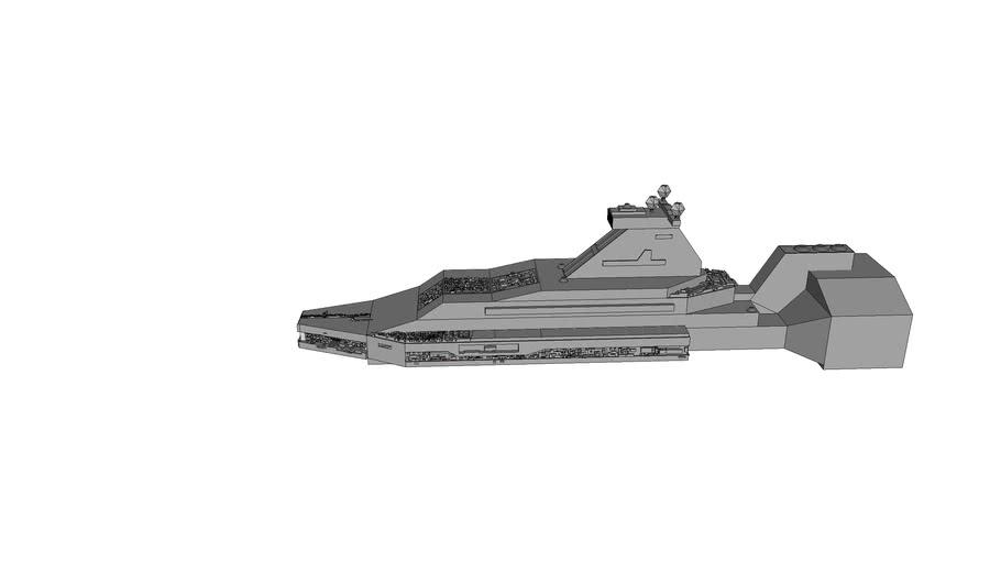 space battle ship METROPOLIS