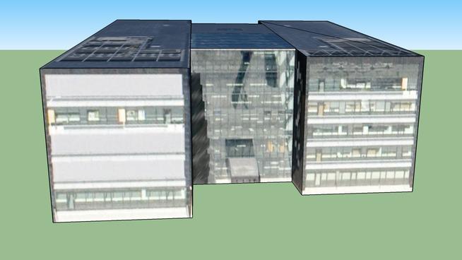 Handelsbanken, Building in Copenhagen, Denmark