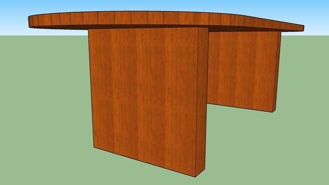 "Dash table 42""x96"" (512-2-4296)"