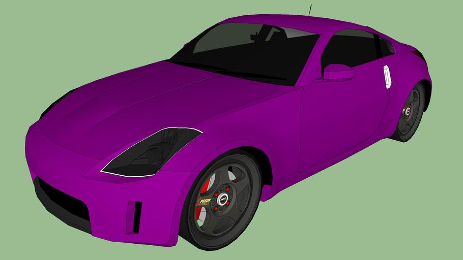 Tuned Nissan 350z