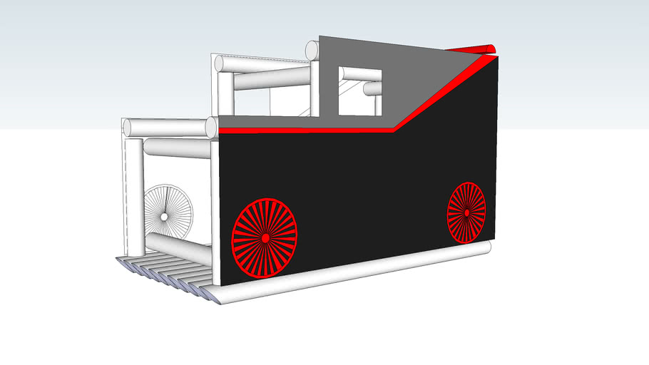 Cardboard Classic - A-Team Van
