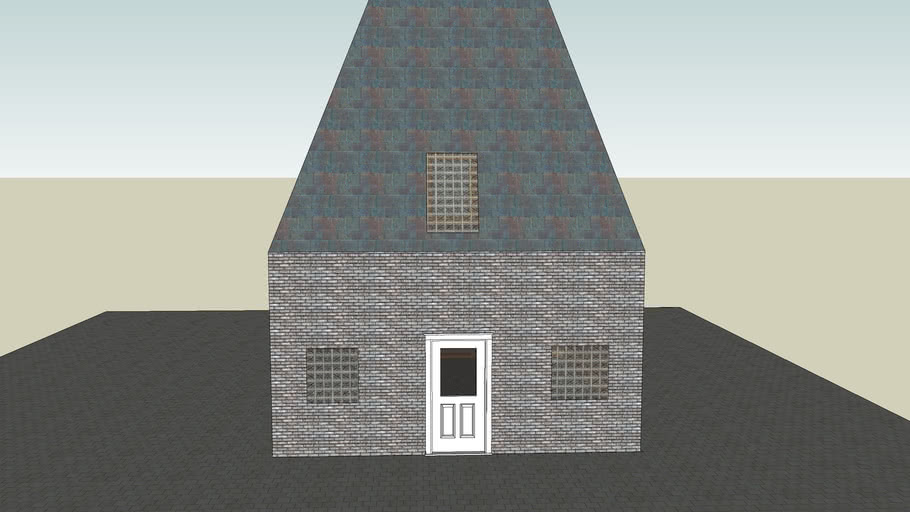 House with two floors