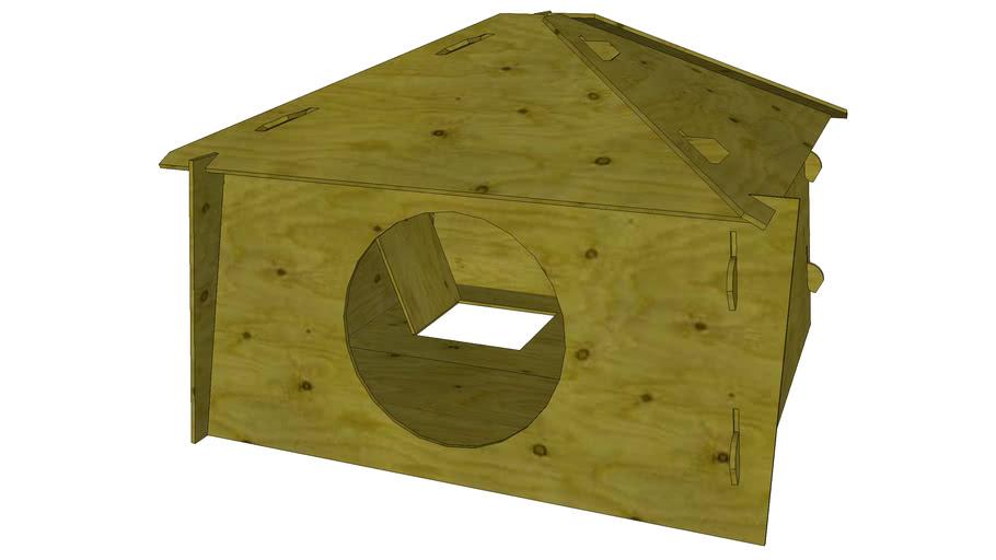 Prefab Plywood Icefishing Hut
