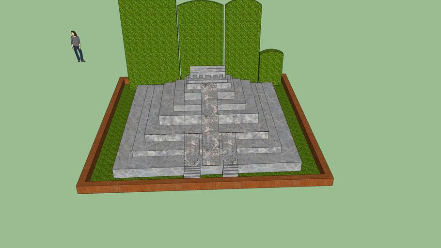 piramide maqueta