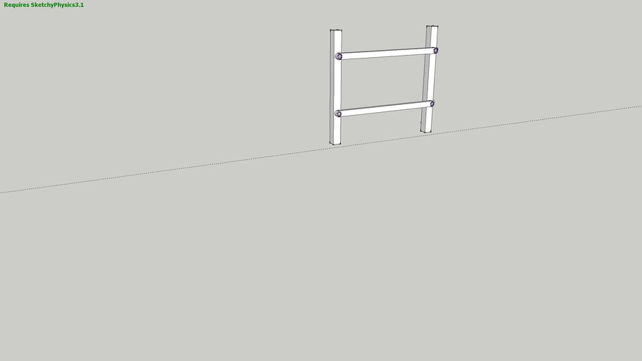 Simple four bar mechanism