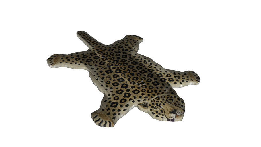 DOING GOODS - LEOPARD BROWN LARGE