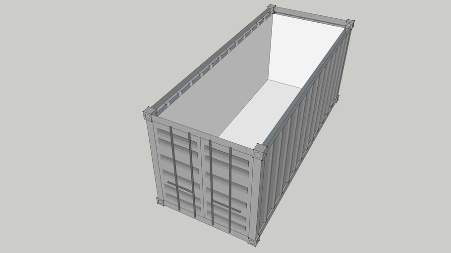 20' container with insulation