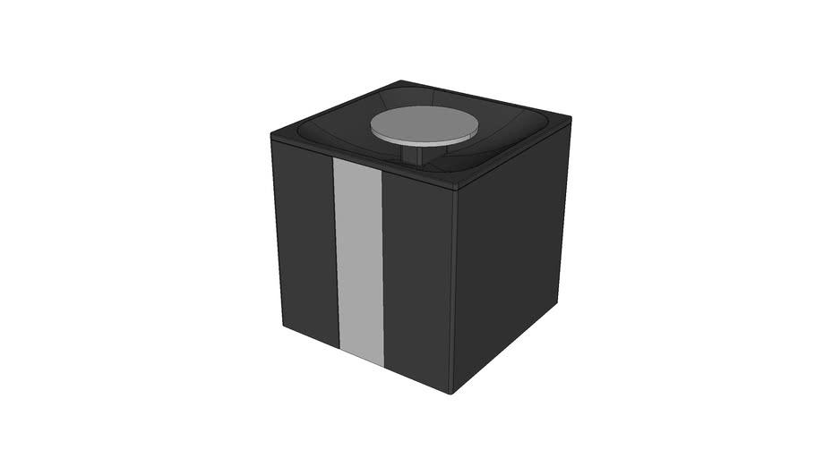 BA0287 - LIXEIRA 1,5L PAPER